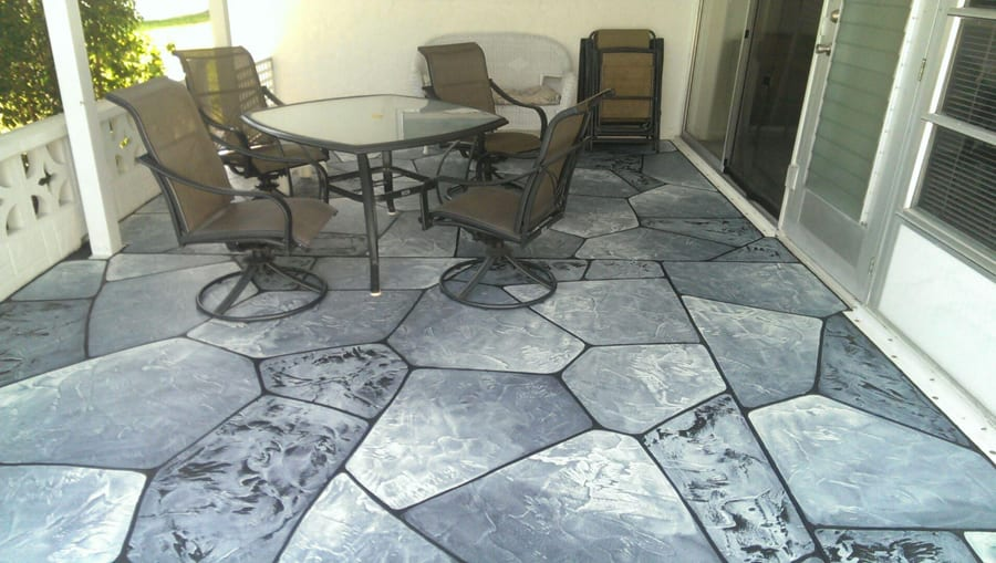 The Benefits Of Stamped Concrete Overlays West Palm Beach