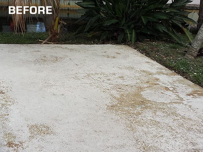 Seeing cracks appear on your concrete? Affordable Concrete resurfacing is the answer!