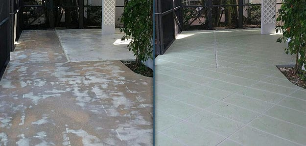 Endless possibilities with decorative Concrete Resurfacing