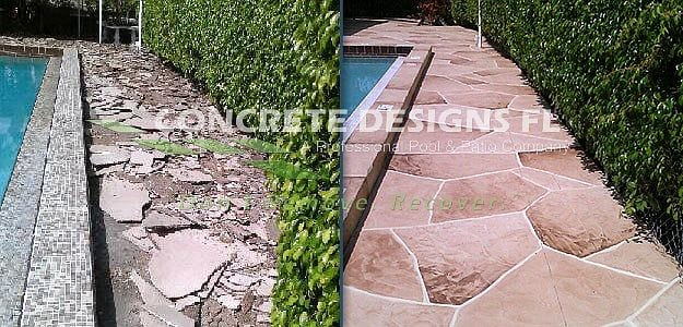 Before after concrete designs