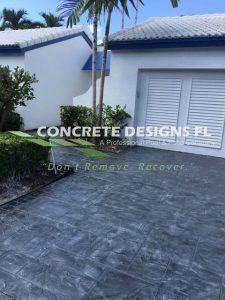 Stamped Concrete design
