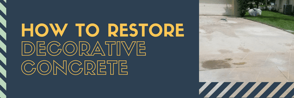 Restore Decorative Concrete