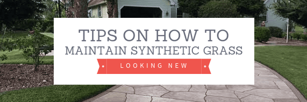 Maintain Synthetic Grass