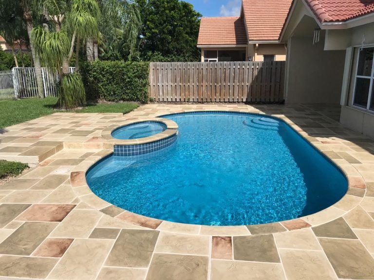 Pool Deck Resurfacing Fl Concrete Pool Deck Repairs