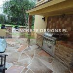 Concrete Stamped Patio Service