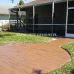 Best Concrete Stamped Patio resurfacing
