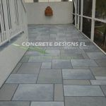 Concrete Stamped Patio resurfacing